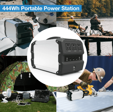 ExpertPower Alpha 400 Solar Generator + Free Shipping, NO Sales Tax & Free After-Sale Support - Shop Solar Kits