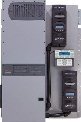 FLEXpower 8kW 48V Pre-wired Radian System 120/240V with 300VDC 100A CC - Shop Solar Kits