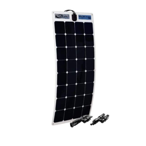 Go Power! 100 Watt Flexible Solar Panel Expansion Kit - Free Shipping! - Shop Solar Kits