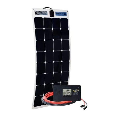 Go Power! 100 Watt Flexible Solar Panel Kit - Free Shipping! GP-FLEX-100 Go Power
