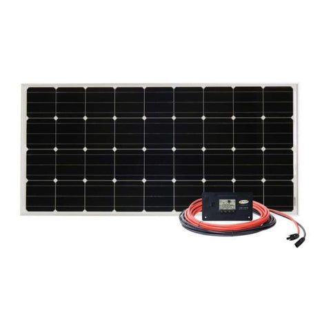 Go Power! 100 Watt Retreat Complete Solar Panel Kit - Free Shipping! - Shop Solar Kits