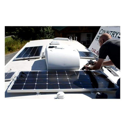 Go Power! 100 Watt Retreat Complete Solar Panel Kit - Free Shipping! RETREAT Go Power