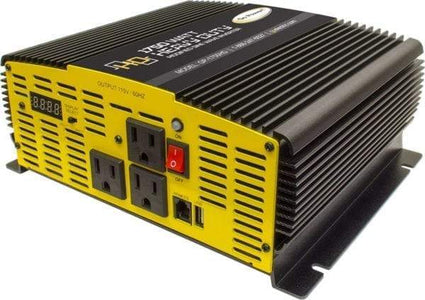 Go Power! 1750 Watt Modified Sine Wave Inverter - Heavy Duty - Free Shipping! - Shop Solar Kits