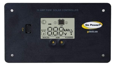 Go Power! 20 Watt Eco Mini Solar Panel Kit/Trickle Charger + Free Shipping! - Shop Solar Kits