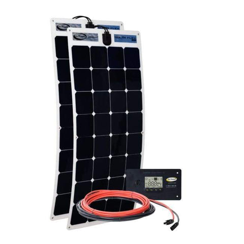 Go Power! 200 Watt Flexible Solar Panel Kit - Free Shipping! - Shop Solar Kits