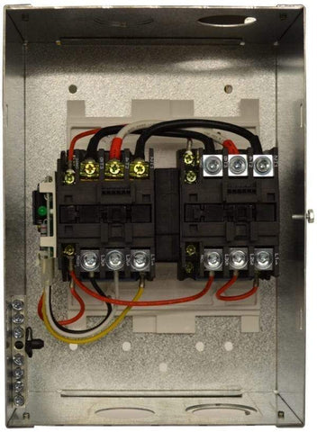 Image of Go Power! 50 Amp Transfer Switch - Metal Enclosure - Free Shipping! - Shop Solar Kits