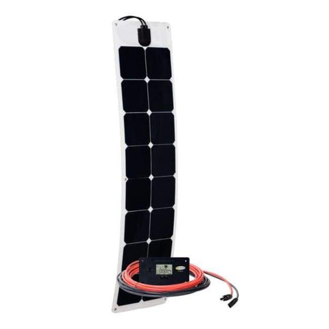 Go Power! 50 Watt Flexible Solar Panel Kit - Free Shipping! GP-FLEX-50 Go Power