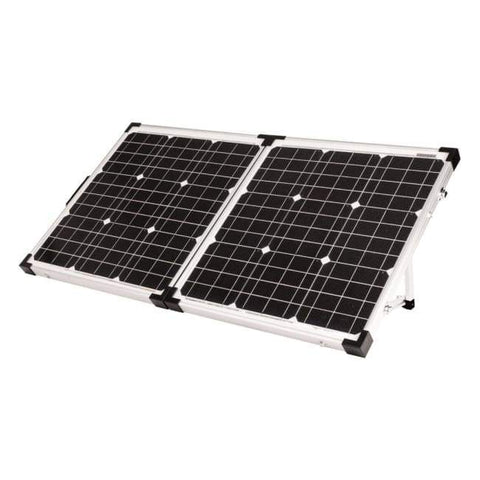 Go Power! 80 Watt Portable Solar Kit w/ 10A Charge Controller - Perfect Mini Solar Panel Kit! GP-PSK-80 Go Power