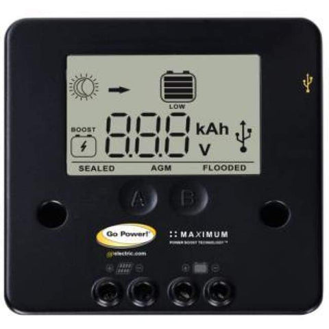 Image of Go Power! 80 Watt Portable Solar Kit w/ 10A Charge Controller - Perfect Mini Solar Panel Kit! - Shop Solar Kits