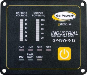 Go Power! GP-ISW-R Industrial Pure Sine Wave Inverter - Free Shipping! - Shop Solar Kits