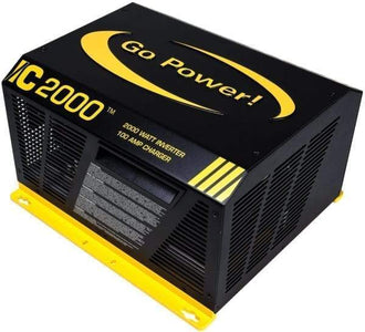 Go Power! IC Series 2000-Watt Inverter Charger - Free Shipping! - Shop Solar Kits