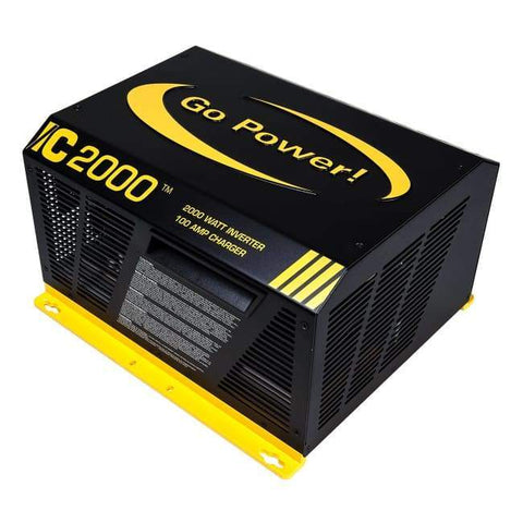 Image of Go Power IC Series 2000 Watt Inverter Charger - Shop Solar Kits