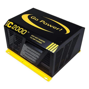 Go Power IC Series 2000 Watt Inverter Charger - Shop Solar Kits