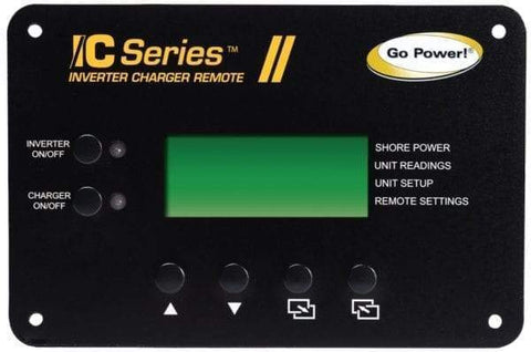 Go Power! IC Series 3000 Watt Inverter Charger | RV, Solar Power Inverter GP-IC-3000-12-PKG Go Power