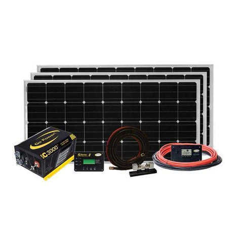 Go Power! Solar Extreme 570 Watt Complete Solar Kit + Major Discount! - Shop Solar Kits