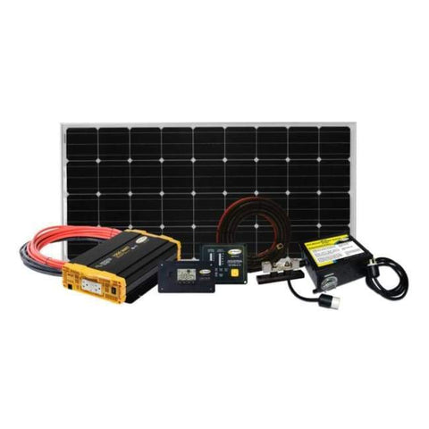 Image of Go Power! Weekender SW 160 Watt Solar Panel Kit + Major Discounts & Free Shipping! - Shop Solar Kits