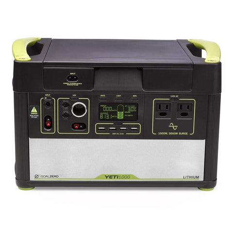 Image of Goal Zero - Yeti 1000 Lithium Portable Power Station *Price Reduced* - Shop Solar Kits