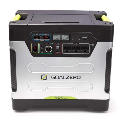 Image of Goal Zero - Yeti 1250 Portable Power Station *Price Reduction* - Shop Solar Kits