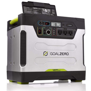 Goal Zero - Yeti 1250 Portable Power Station *Price Reduction* - Shop Solar Kits