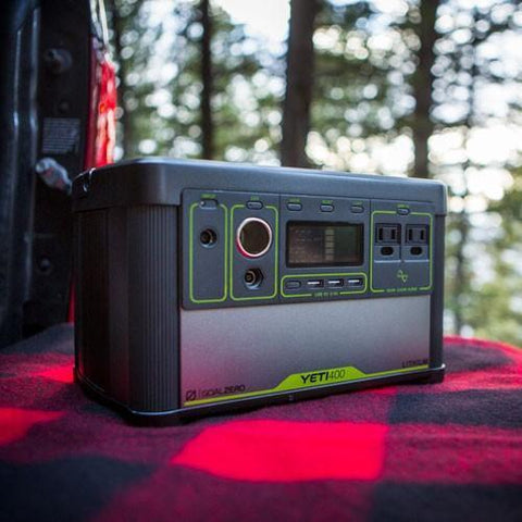 Image of Goal Zero - Yeti 400 Lithium Portable Power Station - Shop Solar Kits
