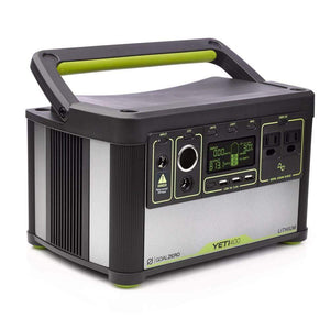 Goal Zero - Yeti 400 Lithium Portable Power Station - Shop Solar Kits