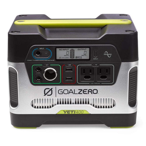 Image of Goal Zero -  Yeti 400 Portable Power Station - Shop Solar Kits
