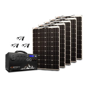 Inergy APEX Gold Flexible Solar Panel Kit | 5 x 100 Watt Linx Solar Panels + Free Shipping & Installation Guide - Shop Solar Kits