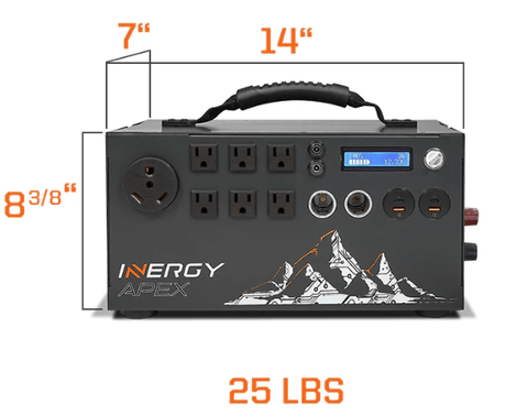 Image of Inergy APEX Bronze Solar Storm Kit (Rigid Panel) - Includes Free Shipping + Installation Guide - Shop Solar Kits