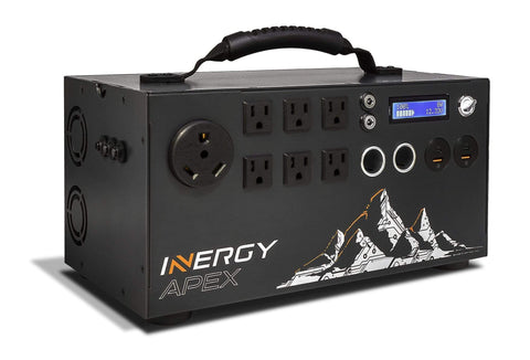 Inergy APEX Portable Solar Generator - Free Shipping & Installation Guide GE0-AP1-011 Inergy