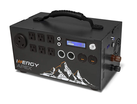 Inergy APEX Portable Solar Generator - Free Shipping & Installation Guide - Shop Solar Kits