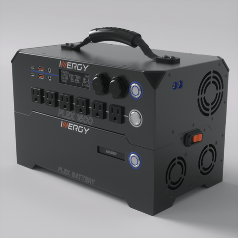 Image of Inergy FLEX 1500 Portable Power Station | Modular Solar Generator - *Coming Soon* - Shop Solar Kits