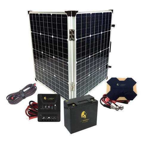 Image of Lion Energy 400 Watt [Complete] Starter Solar Panel Kit + Free Shipping & No Sales Tax - Shop Solar Kits
