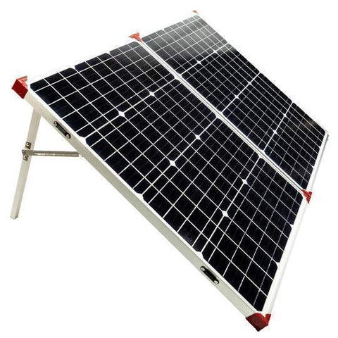 Image of Buy Lion Energy 500 Solar Generator Kit + 1 x 100 Watt Foldable Solar Suitcase Panel | Free Shipping & No Sales Tax - Shop Solar Kits