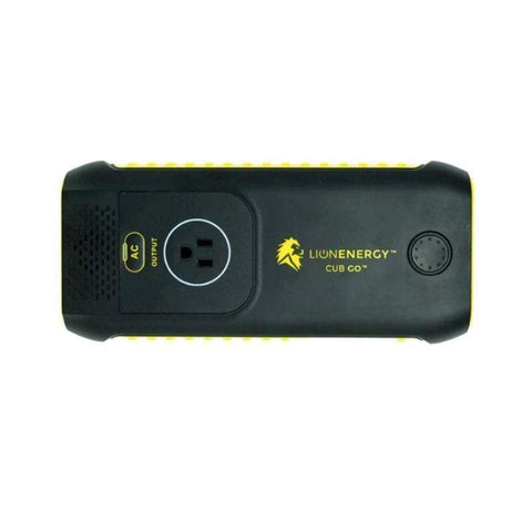 Image of Lion Energy Cub Go 120wH Lithium Portable Power Pack + Free Shipping - Shop Solar Kits