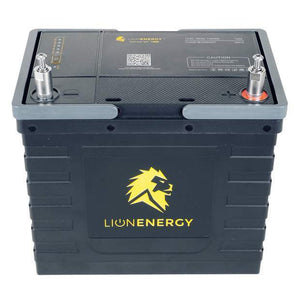 Lion Energy Safari UT 1300 Lithium Ion Solar Battery 105Ah + Free Shipping, No Sales Tax & Free After-Sale Support - Shop Solar Kits