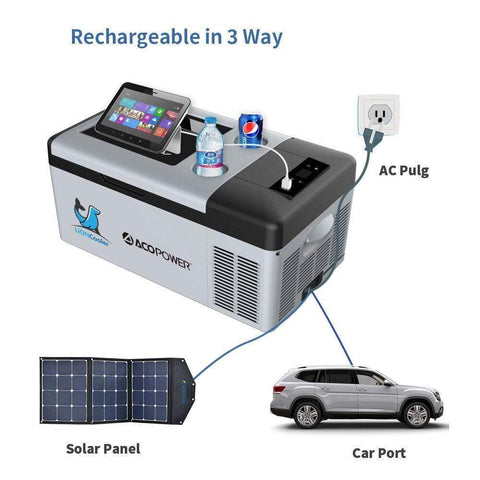 Image of ACOPower LionCooler X15A Portable Solar Fridge Freezer, 17 Quarts + Free Shipping & No Sales Tax! - Shop Solar Kits