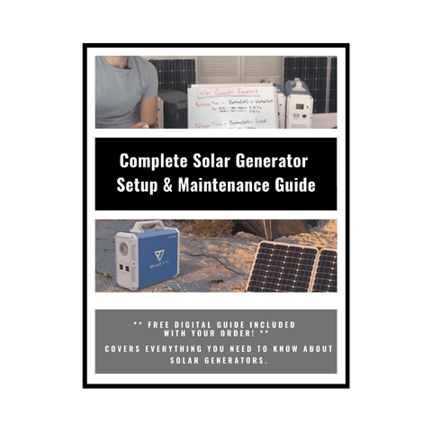 Image of MaxOak Bluetti Solar Generator 2400Wh | EB240 Portable Solar Power Station BLUETTI-EB240 MaxOak