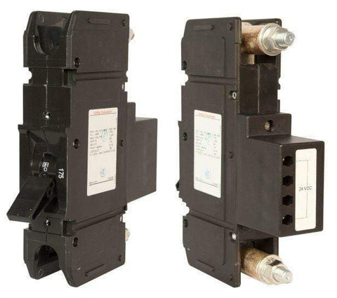 Image of Midnite Solar 175A/125VDC panel mount Remote Trip Breaker | MNEDC175RT - Shop Solar Kits