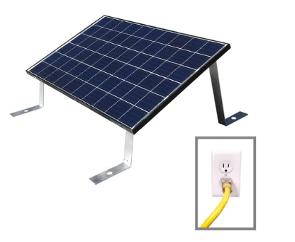 Image of Plug In Solar 265W Plug In Roof Mount LEAD Solar Unit | GT-RM Lead + Free Shipping - Shop Solar Kits