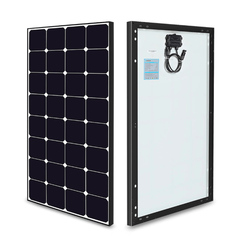 Image of Renogy 100 Watt 12 Volt Eclipse Mono Solar Panel + Free Shipping & No Sales Tax RNG-100MB-BC Renogy