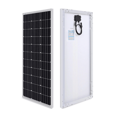 Renogy 100 Watt 12V Mono 30A Solar Kit w/ Mounting Hardware + Free Shipping & No Sales Tax - Shop Solar Kits