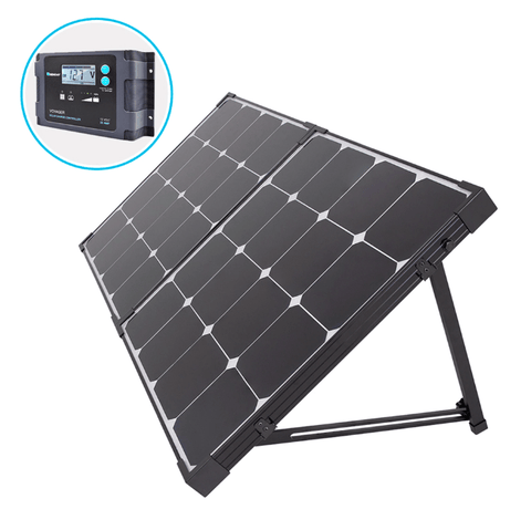 Renogy 100 Watt Eclipse Mono Solar Suitcase + Free Shipping & No Sales Tax RNG-KIT-STCS100MB-VOY20-BC Renogy
