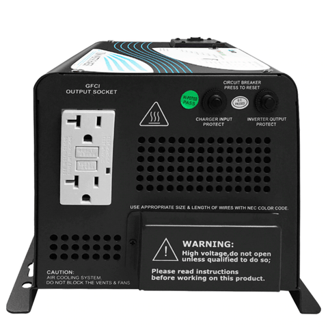 Renogy 1000Watt Pure Sine Wave Inverter Charger + Free Shipping & No Sales Tax RNG-INVT-1000-12V-C-BC Renogy