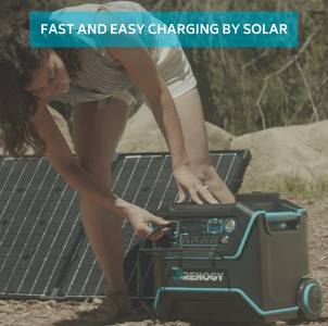 Renogy Lycan PowerBox 1200 | Portable Solar Generator + Free Shipping & No Sales Tax! - Shop Solar Kits