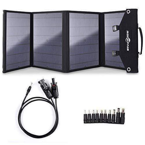 100W Foldable Solar Panel Charger | Rockpals | Free Shipping & No Sales Tax - Shop Solar Kits