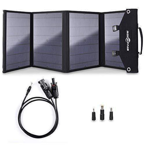 Image of ROCKPALS 300 Portable Solar Generator Kit + 1 x [60W] Solar Panel + Free Shipping & NO Sale Tax! - Shop Solar Kits
