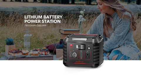 ROCKPALS 330W Portable Solar Generator  + Free Shipping & NO Sales Tax! - Shop Solar Kits