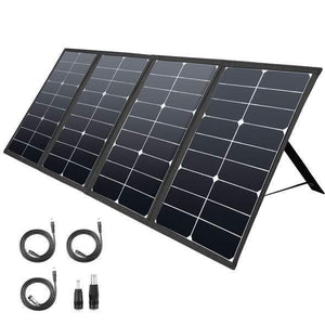 80 Watt Solar Suitcase Panel | RockPals | Free Shipping & No Sales Tax - Shop Solar Kits