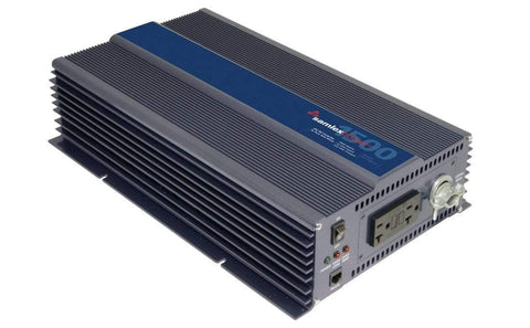 Image of Samlex PST-1500-12 - 1500 Watt Pure Sine Wave Inverter - 12V & 24V - Shop Solar Kits