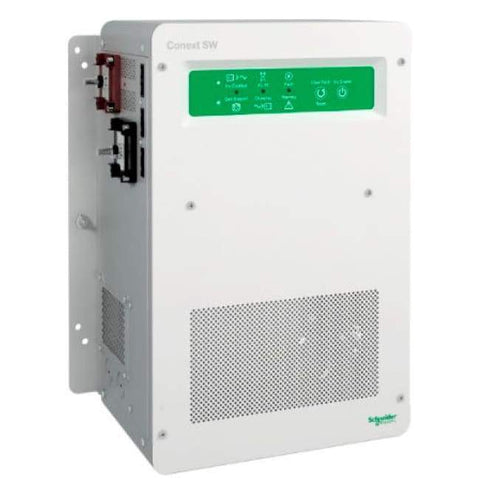 Schneider - Conext SW 4kW 48VDC Inverter/Charger 120/240VAC - RNW8654048 - Shop Solar Kits